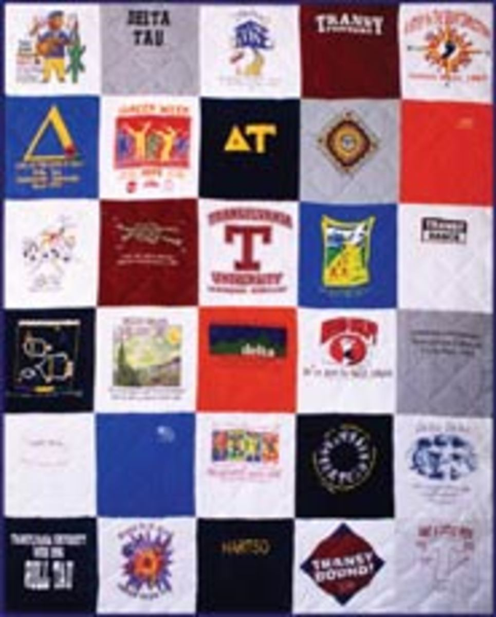 Turn your race shirts into a quilt