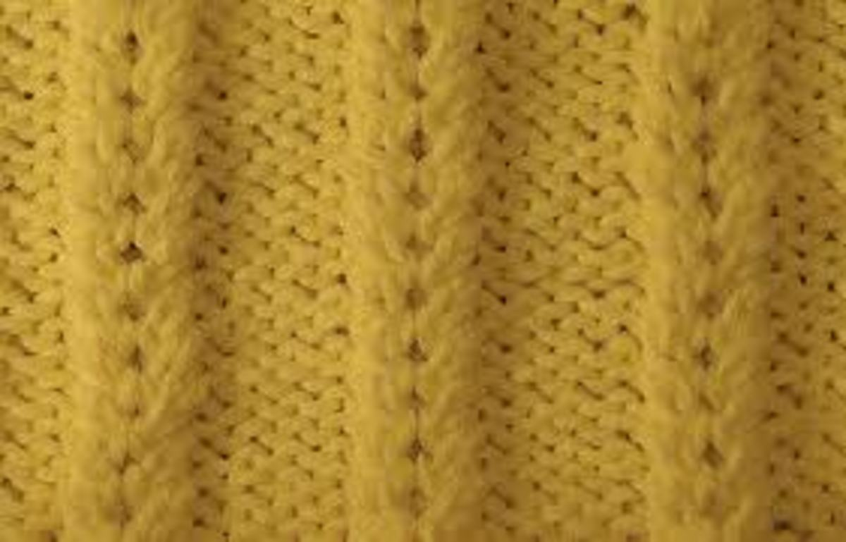 How to Knit the Waffle Stitch - YouTube