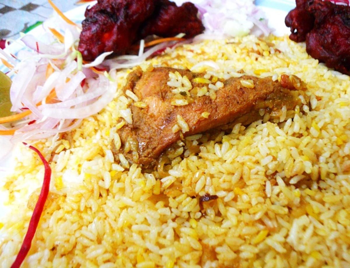 Biryani - one pot Indian meals