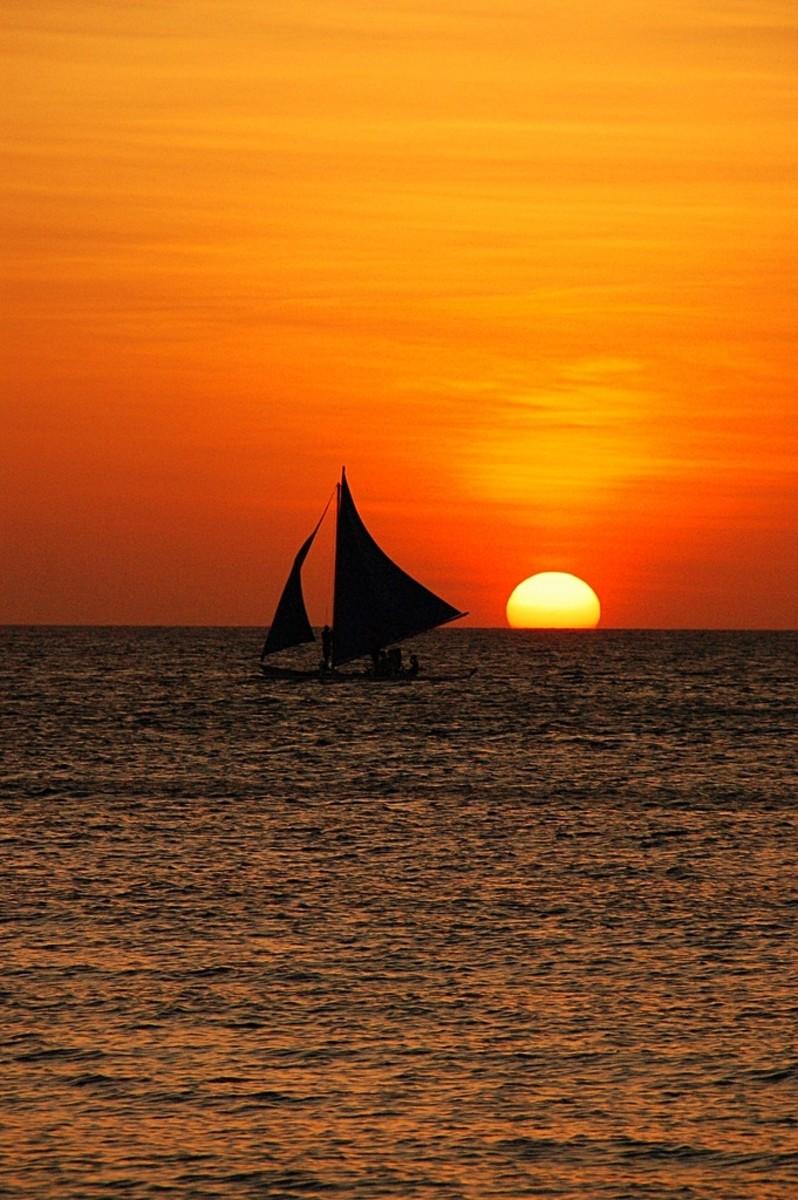 "Sunset or ""Takipsilim"" in the Filipino Language"