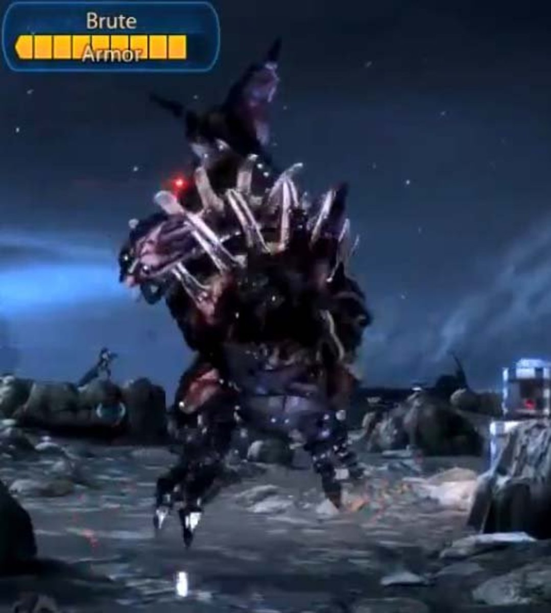 Mass Effect 3 Clear the Camp - Defeat the Brutes to Reach General Victus