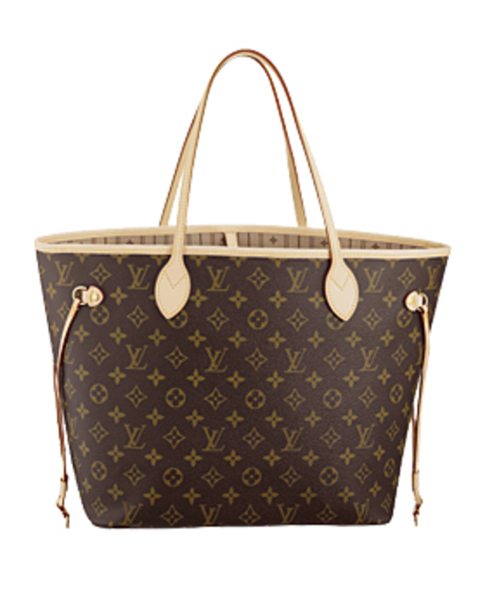 The Classic LV monogram pattern.