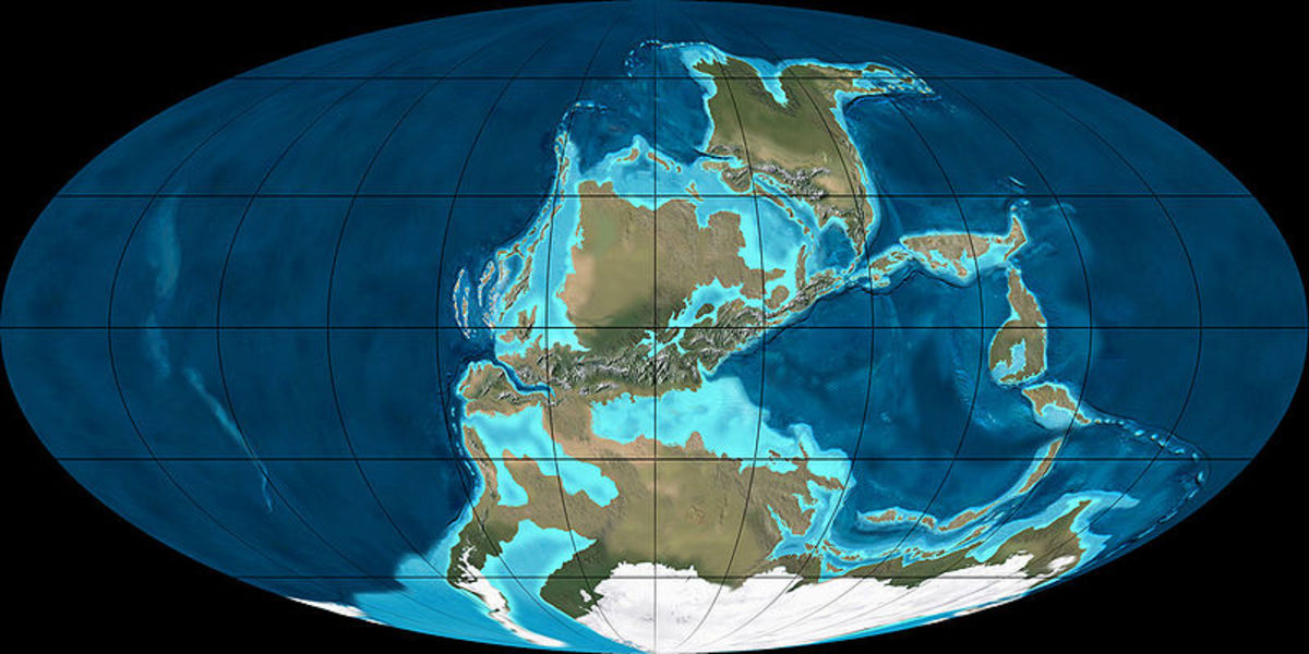 Imaging North America overlapping Eurasia, There would be no sea or oceans to surf for Columbus or Cortez
