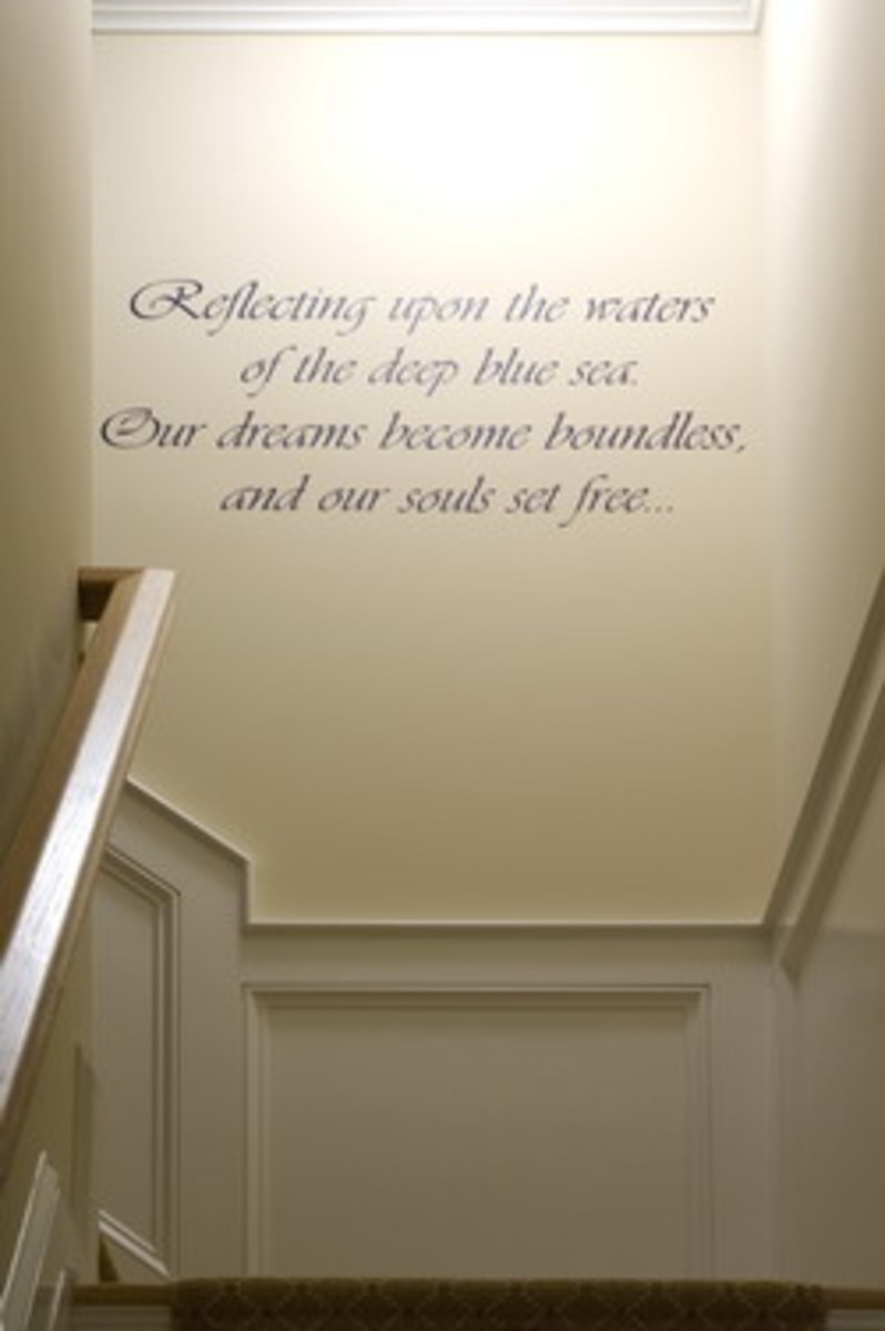 Reflecting Upon the Waters Wise Quote