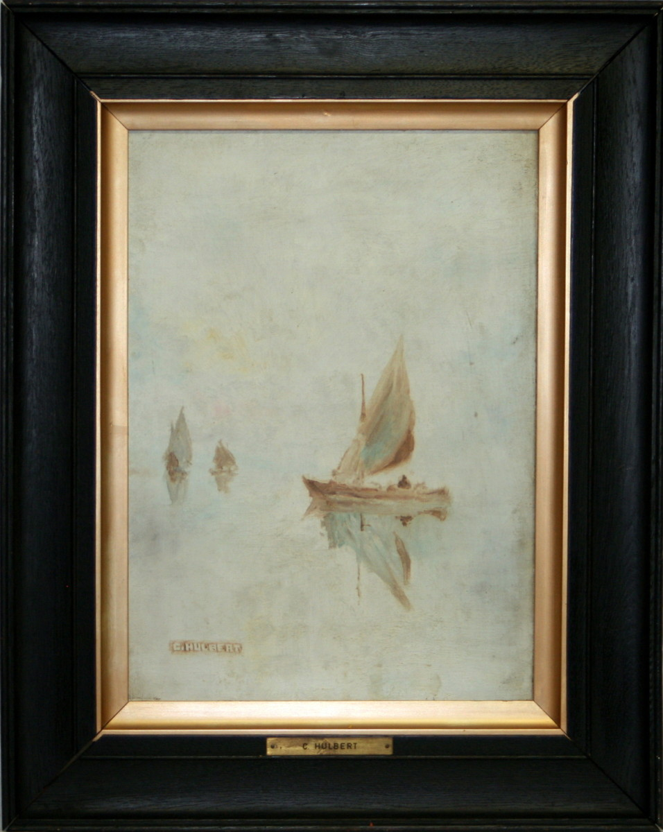 Antique Sail Boat Drawing