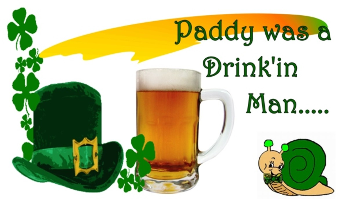 An Irish Joke do tell and recipe for Irish Soda Bread: Paddy was a Drink'in Man