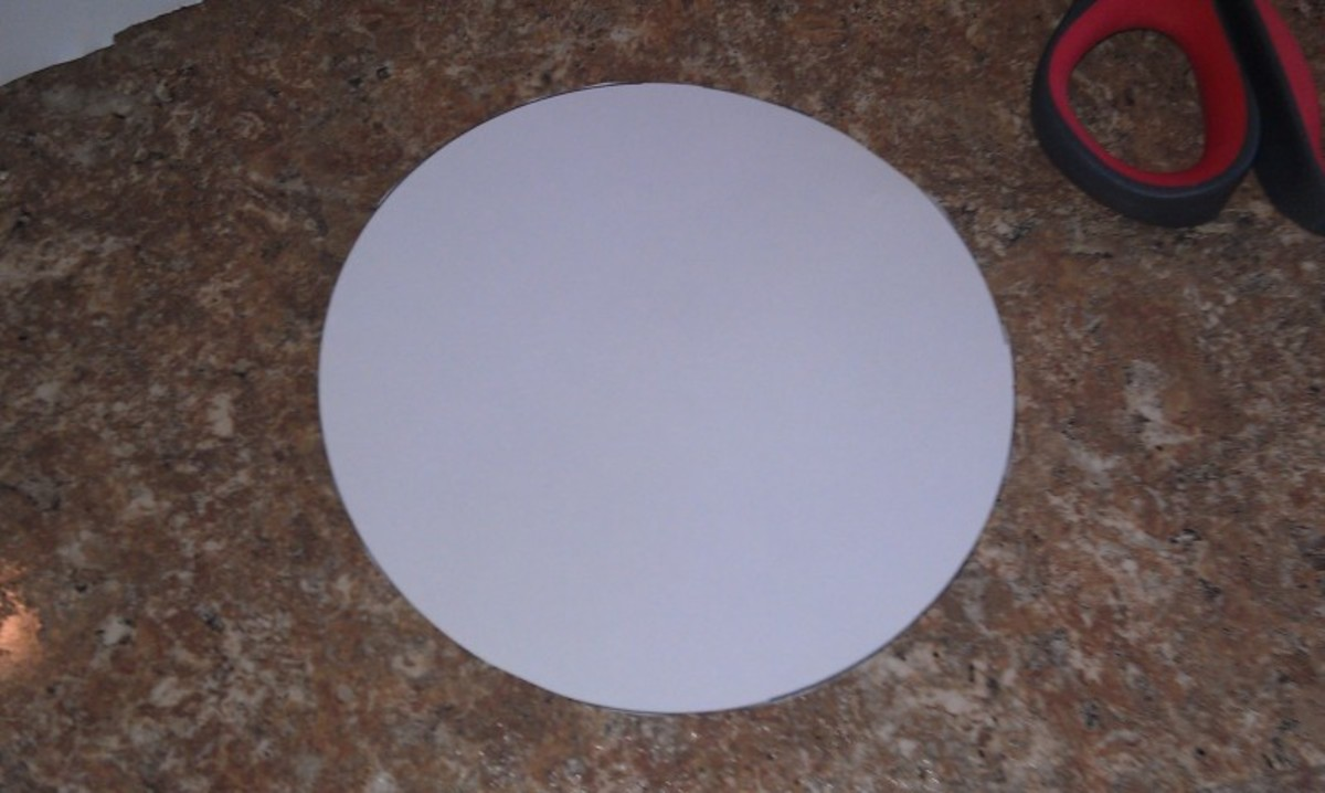 one perfect circle ready for the project