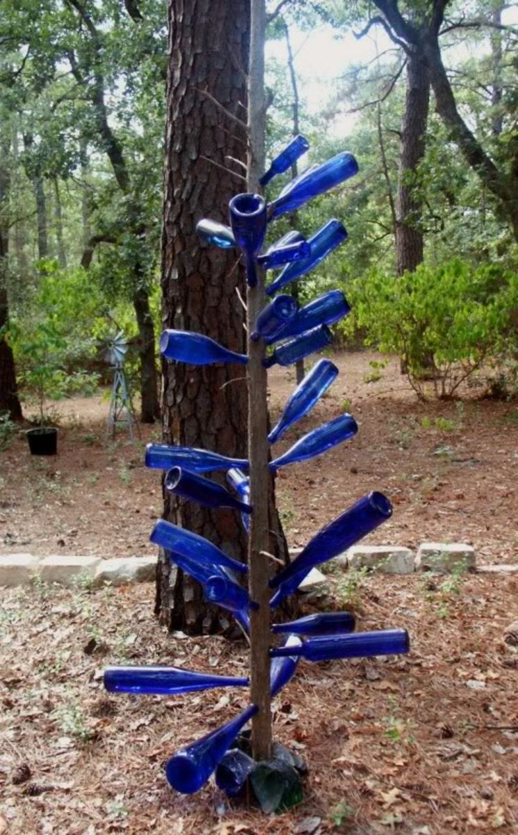 Blue Bottle Trees Are Said To Be The Most Powerful.