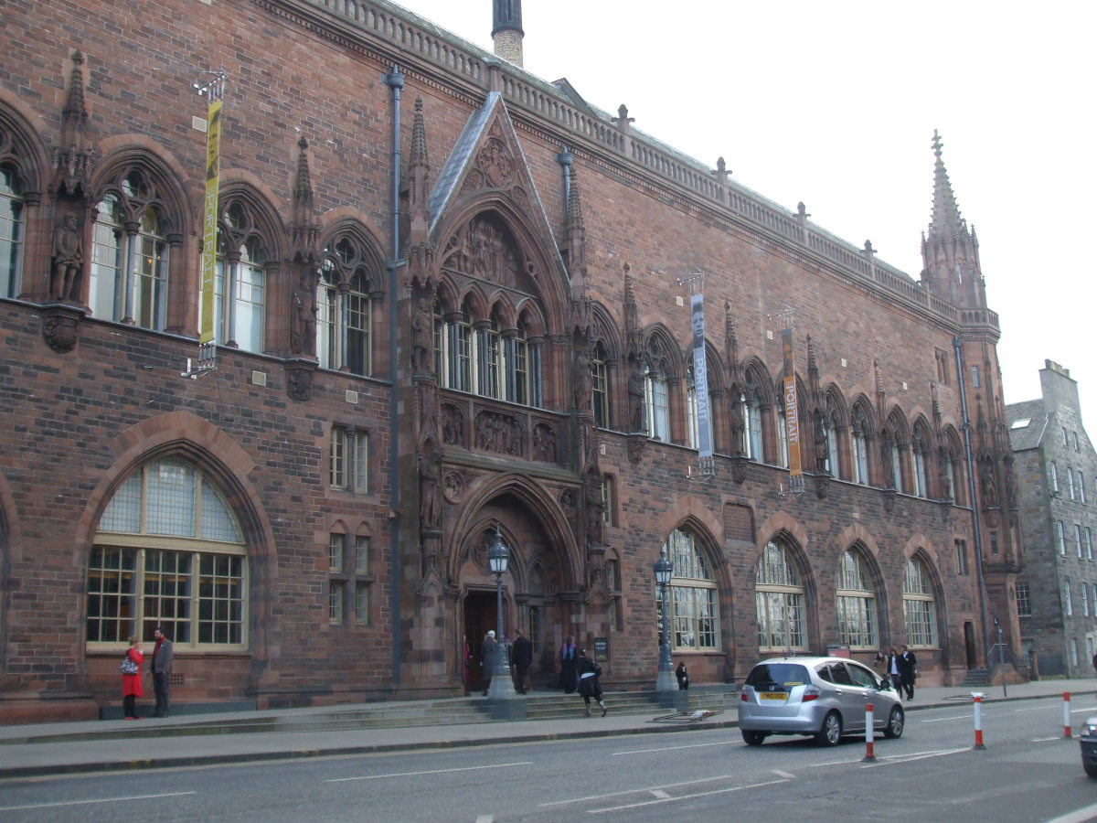 The Scottish National Portrait Gallery in Queen Street