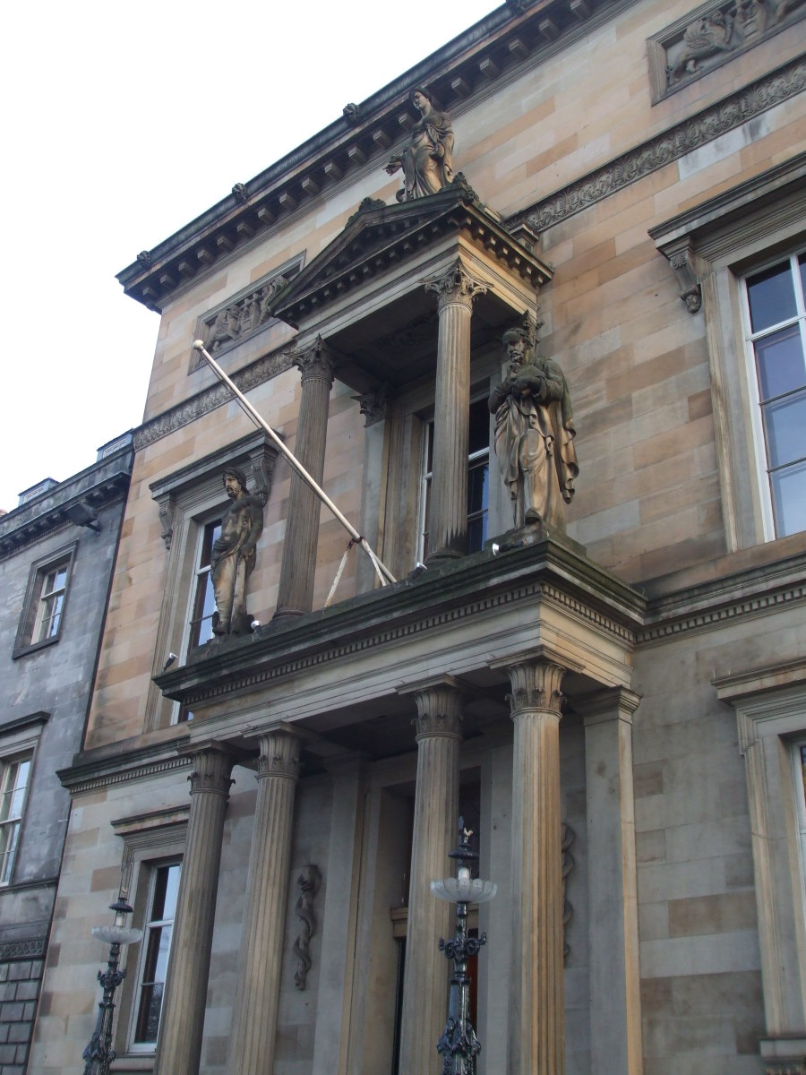 Royal Society of Physicians building in Queen Street