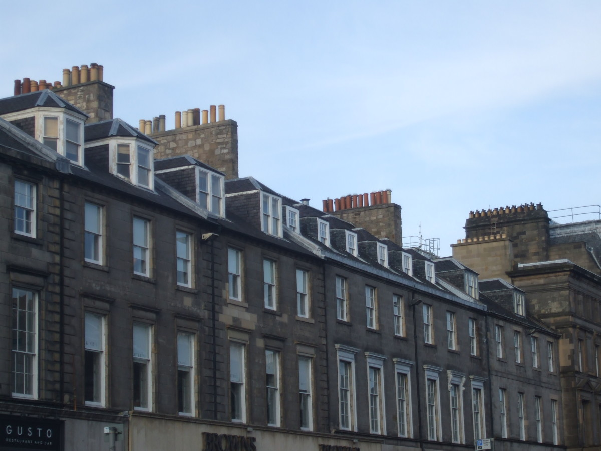 Dormer windows in George Street
