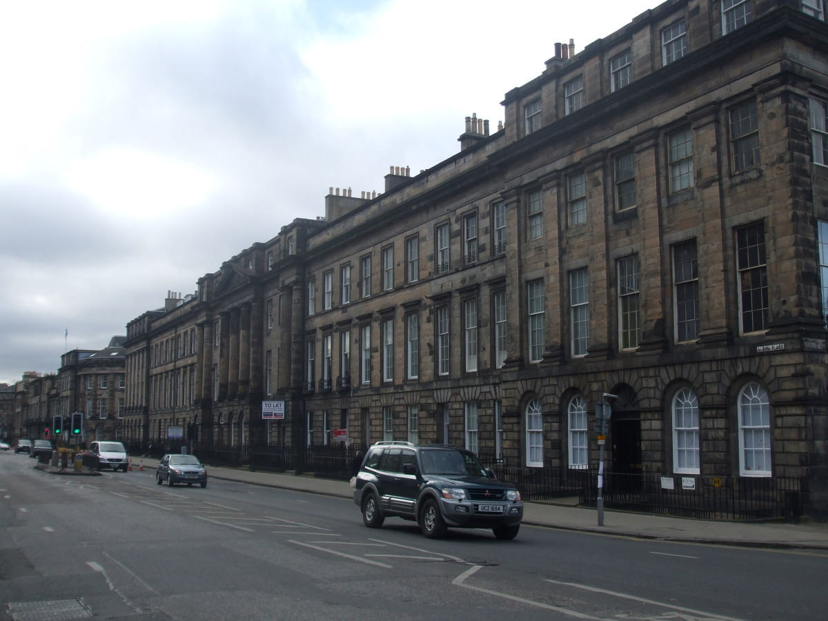The palatial style of Albyn Place