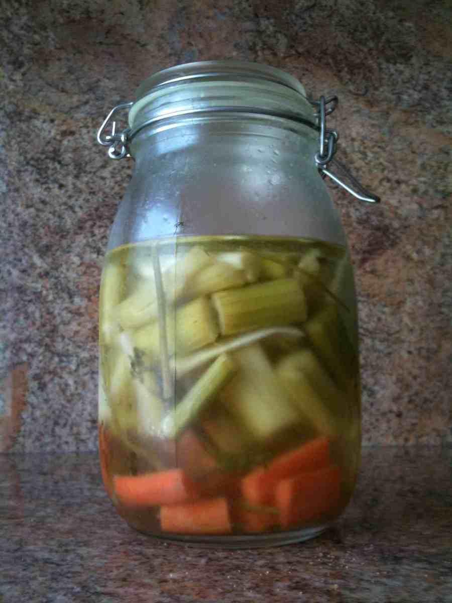 marinated celery