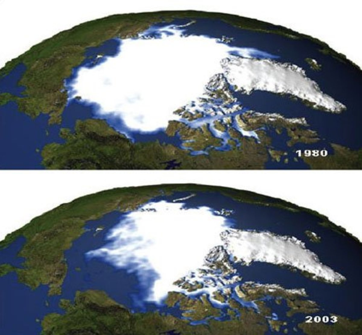 global warming is real the before and after pictures