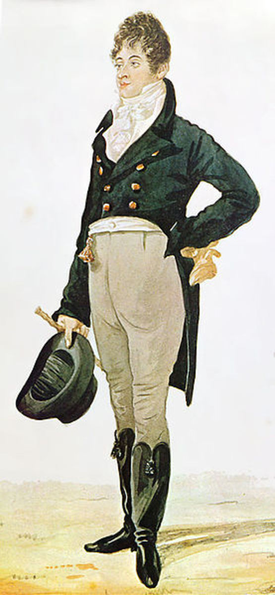 The stylish Regency fashion icon, Beau Brummell