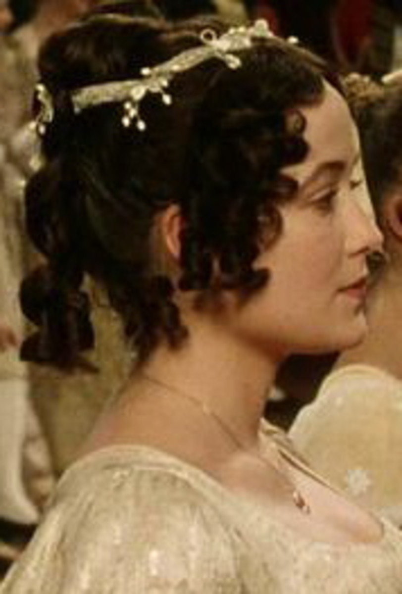 as Elizabeth Bennett. From the BBC drama, Pride and Prejudice