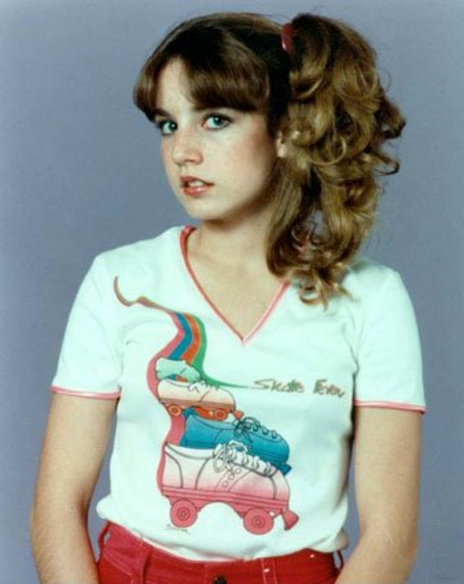 Dana Plato during her Different Strokes fame.