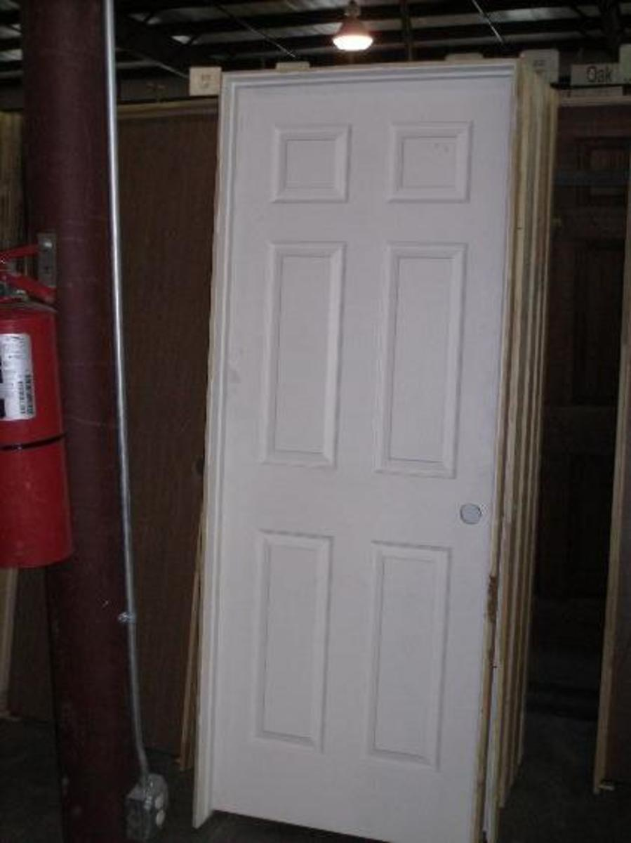 How to install a prehung door hubpages for Hanging interior prehung doors