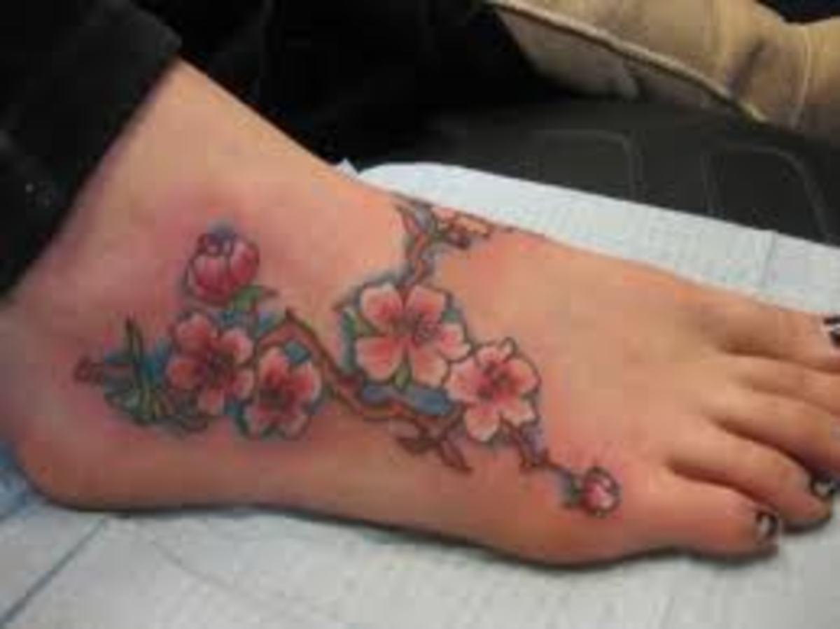 flowerfoottattoodesignsgallery