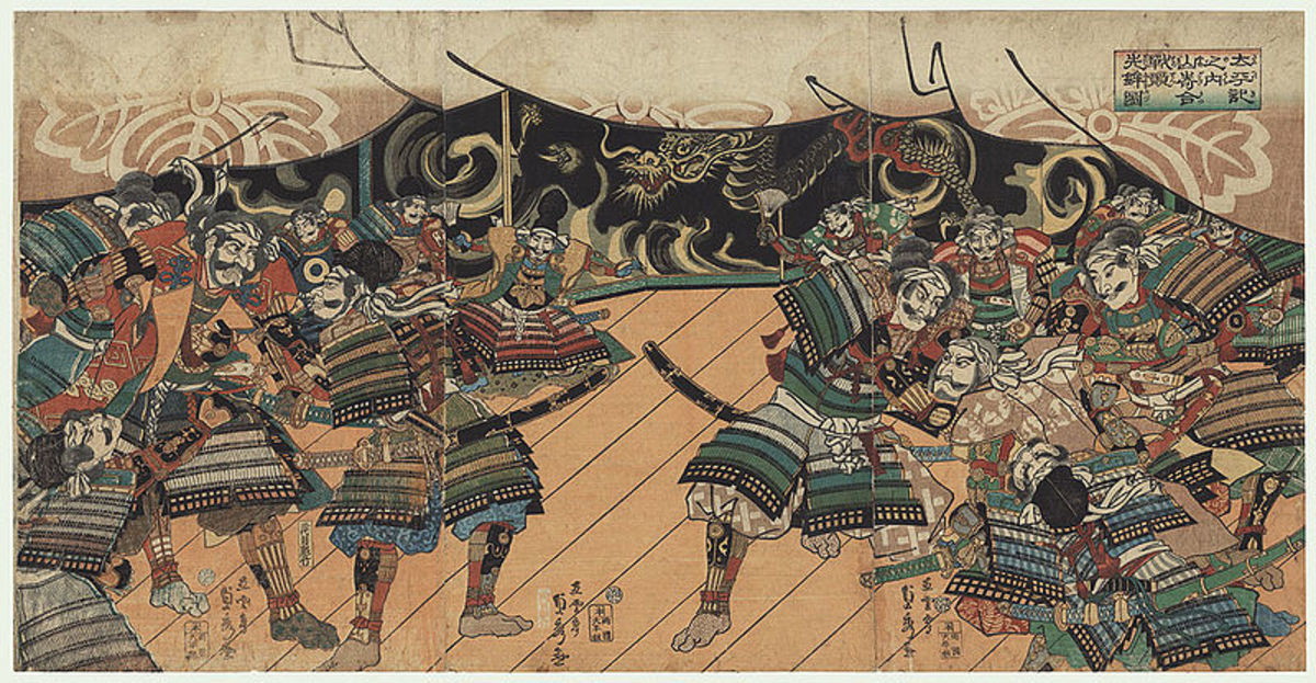 The Battle of Yamazaki