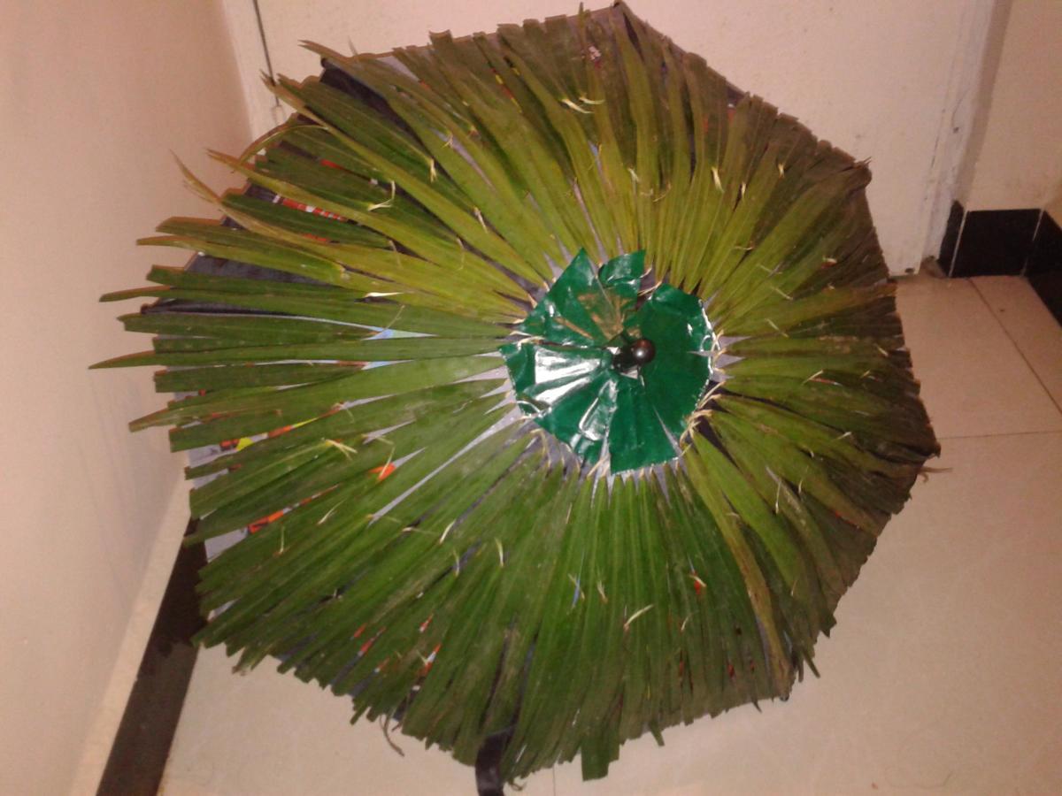 Olakkuda or leaf umbrella