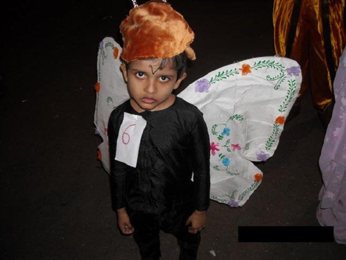 """Fancy dress for a """"butterfly"""""""