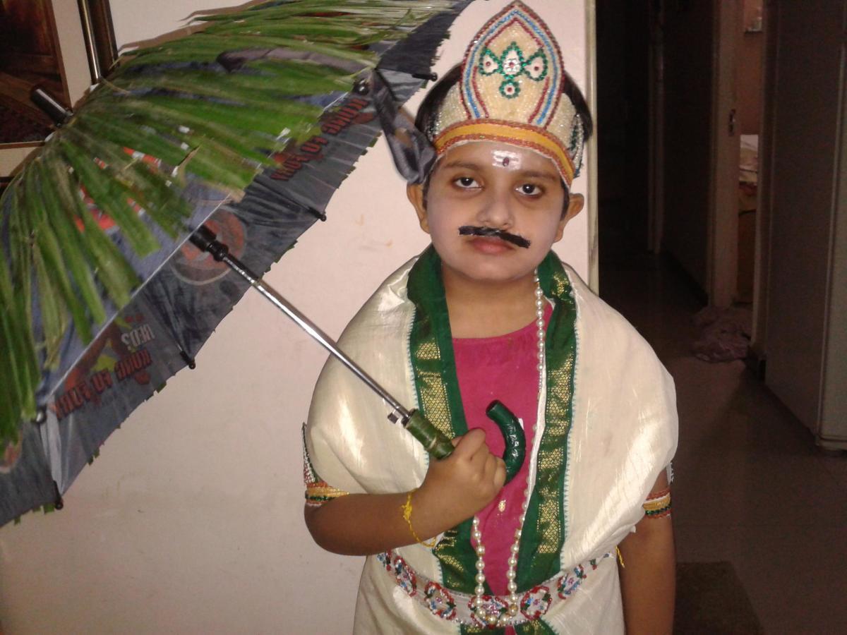 Fancy dress costume for 'KIng Mahabali'