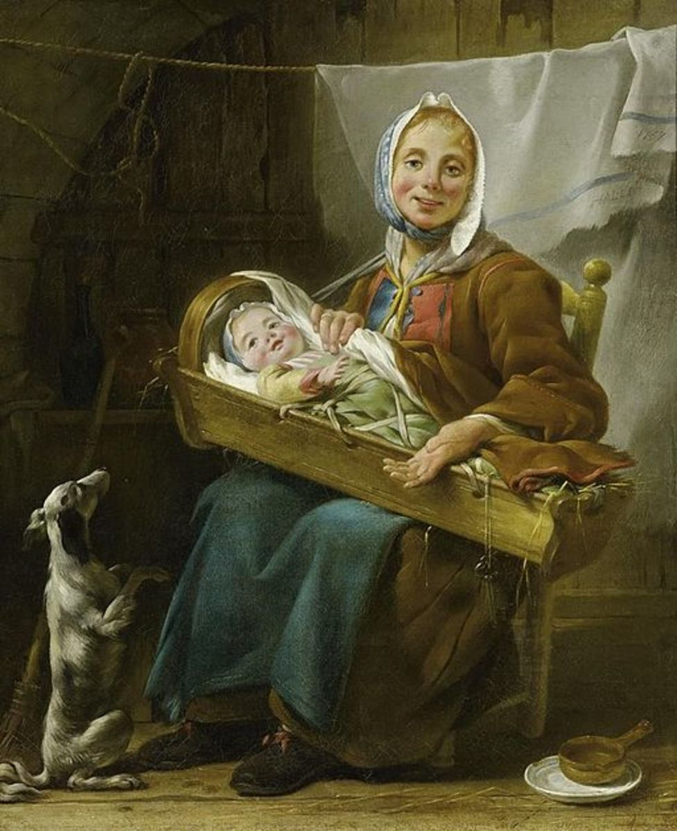 Mothers were able to keep their babies with them most of the time.