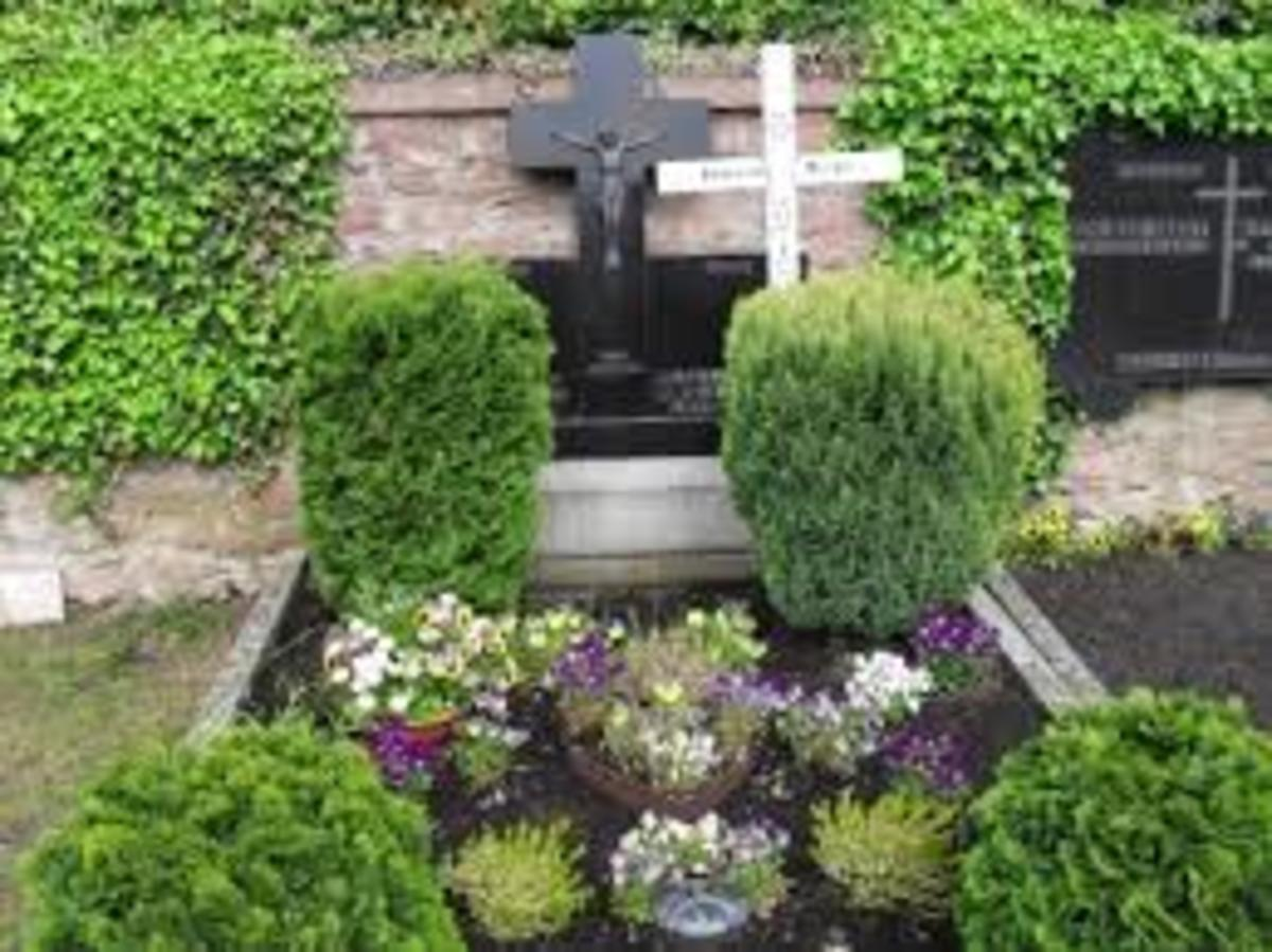 Anneliese's final resting place