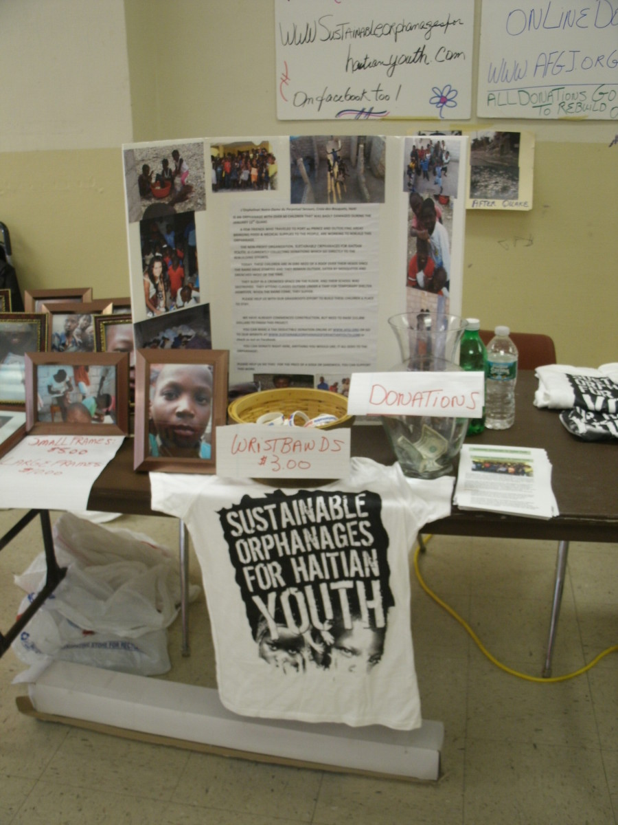 Sustainable Orphanages for Haitian Youth table