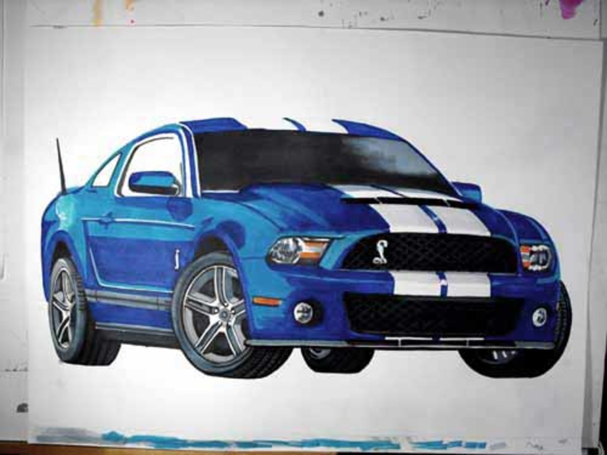 Another Mustang, Shelby, GT 500 for the garage.