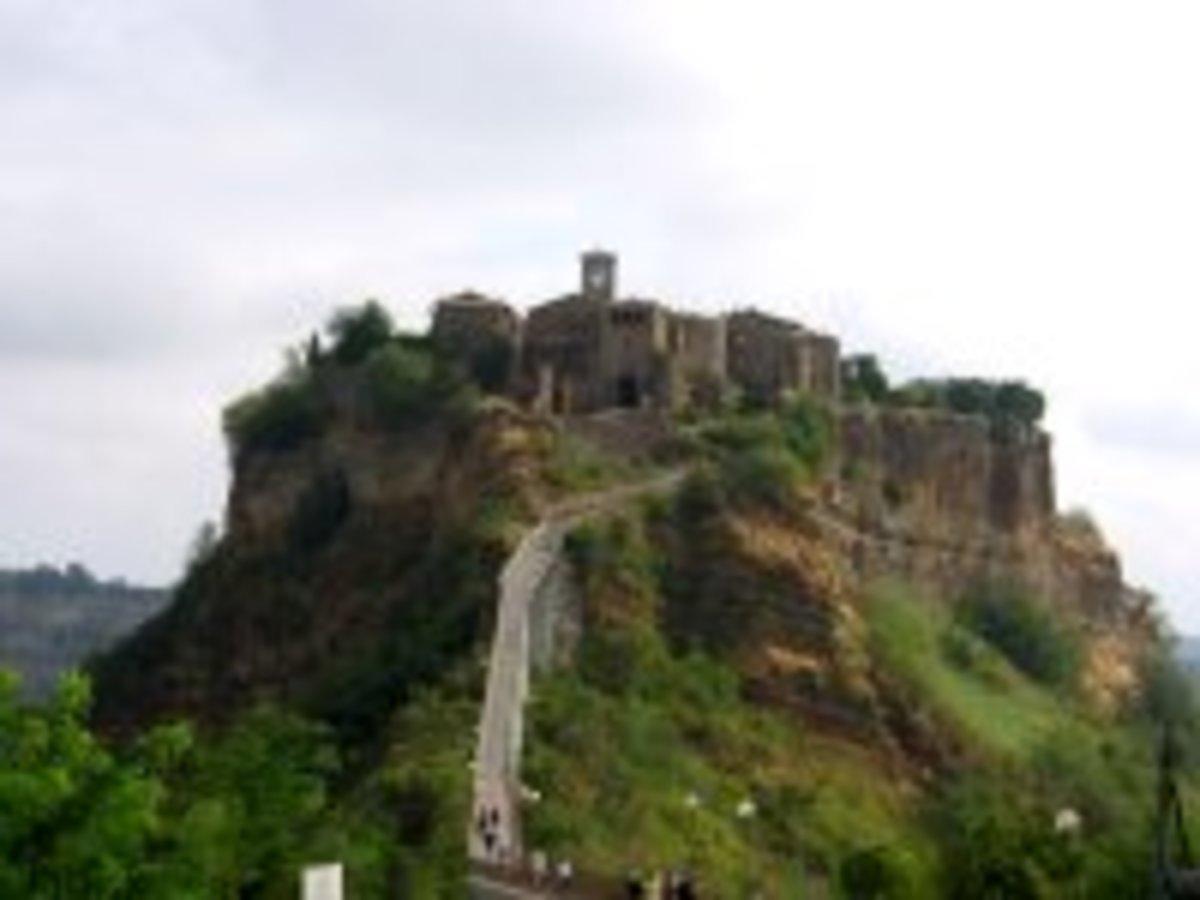 Walled Etruscan town, Civita di Bagnoregio.