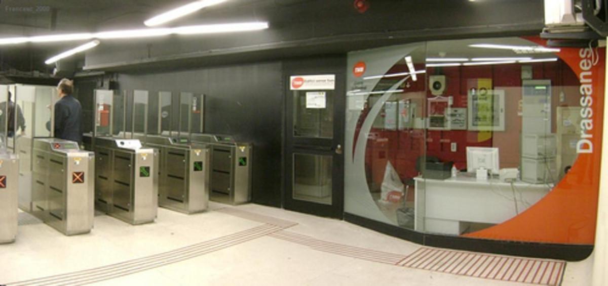 Drassanes Metro station