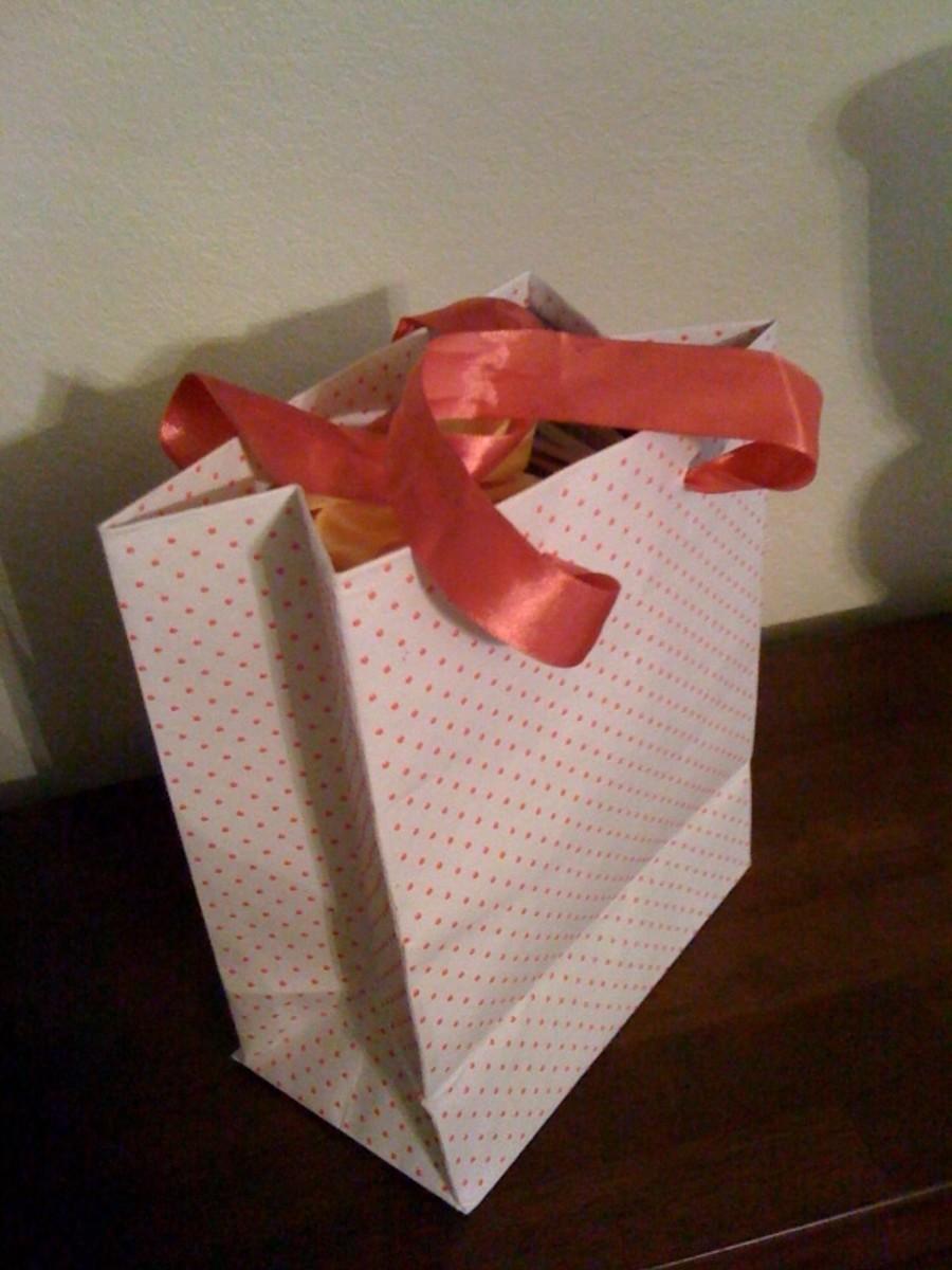 Gift bag.