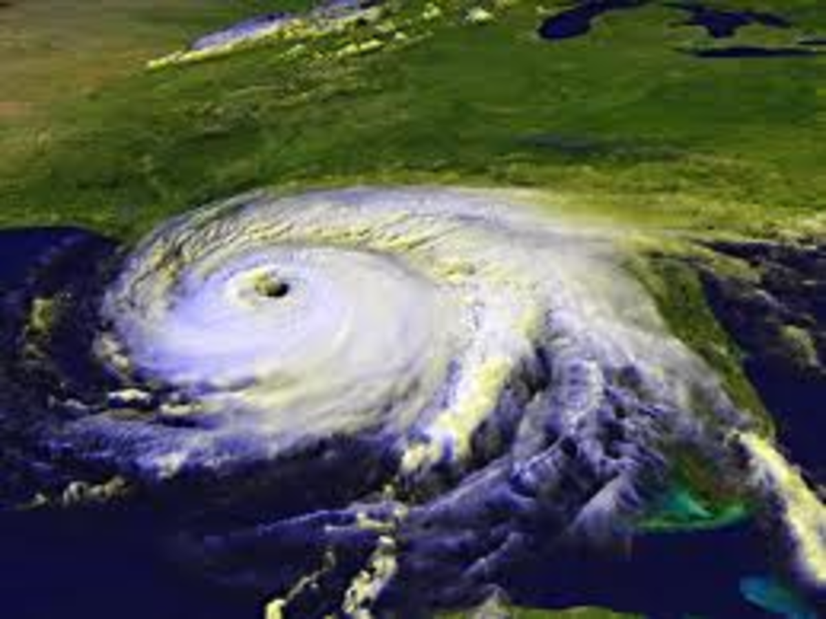 We are being warned of 'A Hell of a Year Ahead' Hurricane Warnings have being giving.