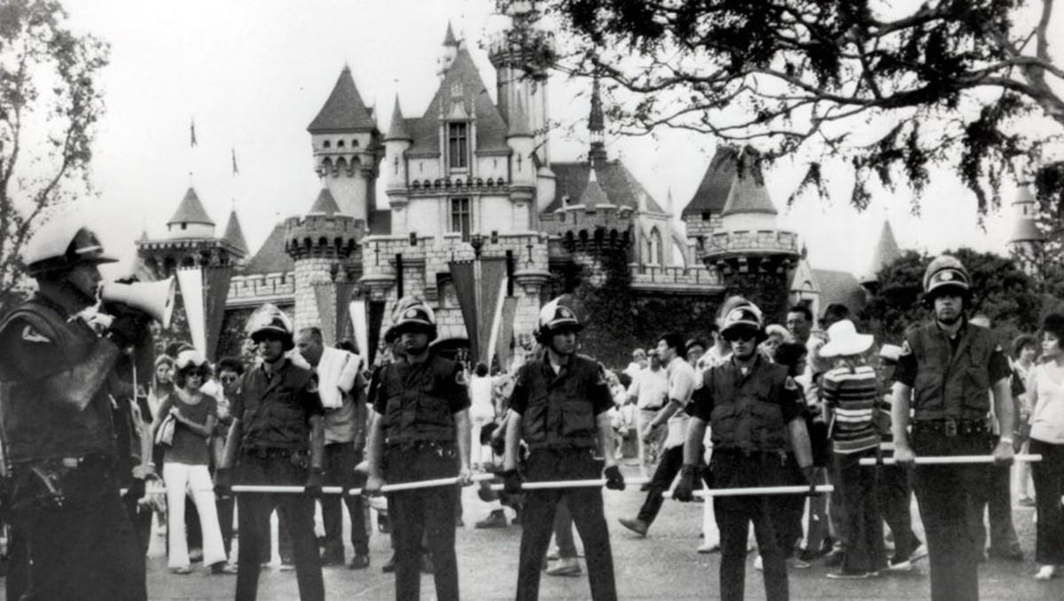 The Yippie Invasion of Disneyland!