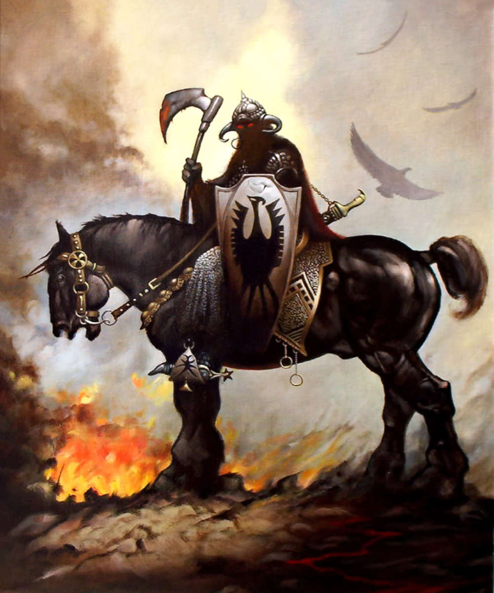Frank Frazetta Death Dealer