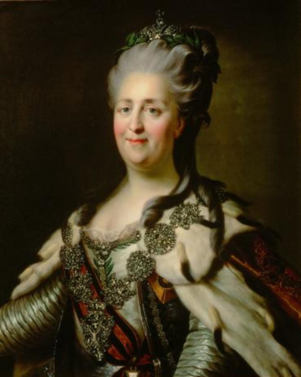 The Many Lovers of Catherine the Great