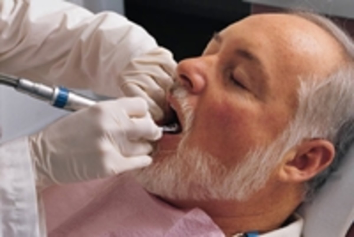 Visiting your dentist regularly will help you keep your teeth and gums healthy.