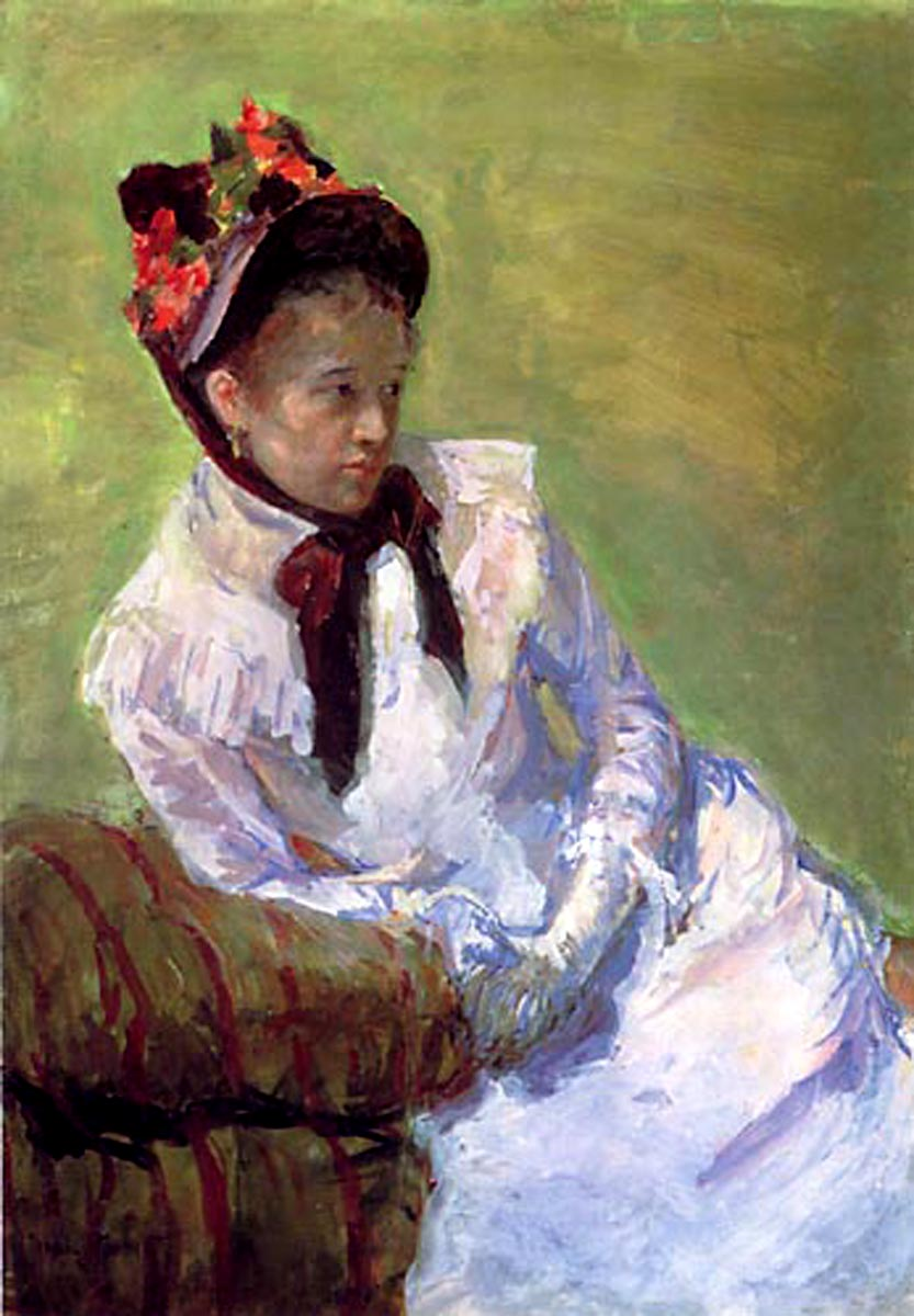 Mary Cassatt- Self Portrait (1878)
