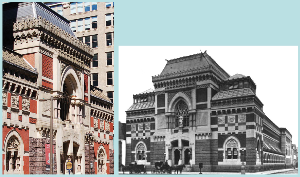PENNSYLVANIA ACADEMY OF FINE ARTS NOW AND THEN