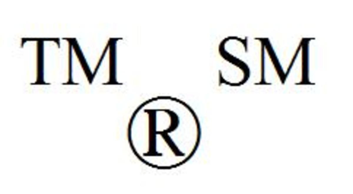 Using Trademark Symbols in Writing: Answering Questions on Use of Trademark and Registered Trademark Symbols in Writing