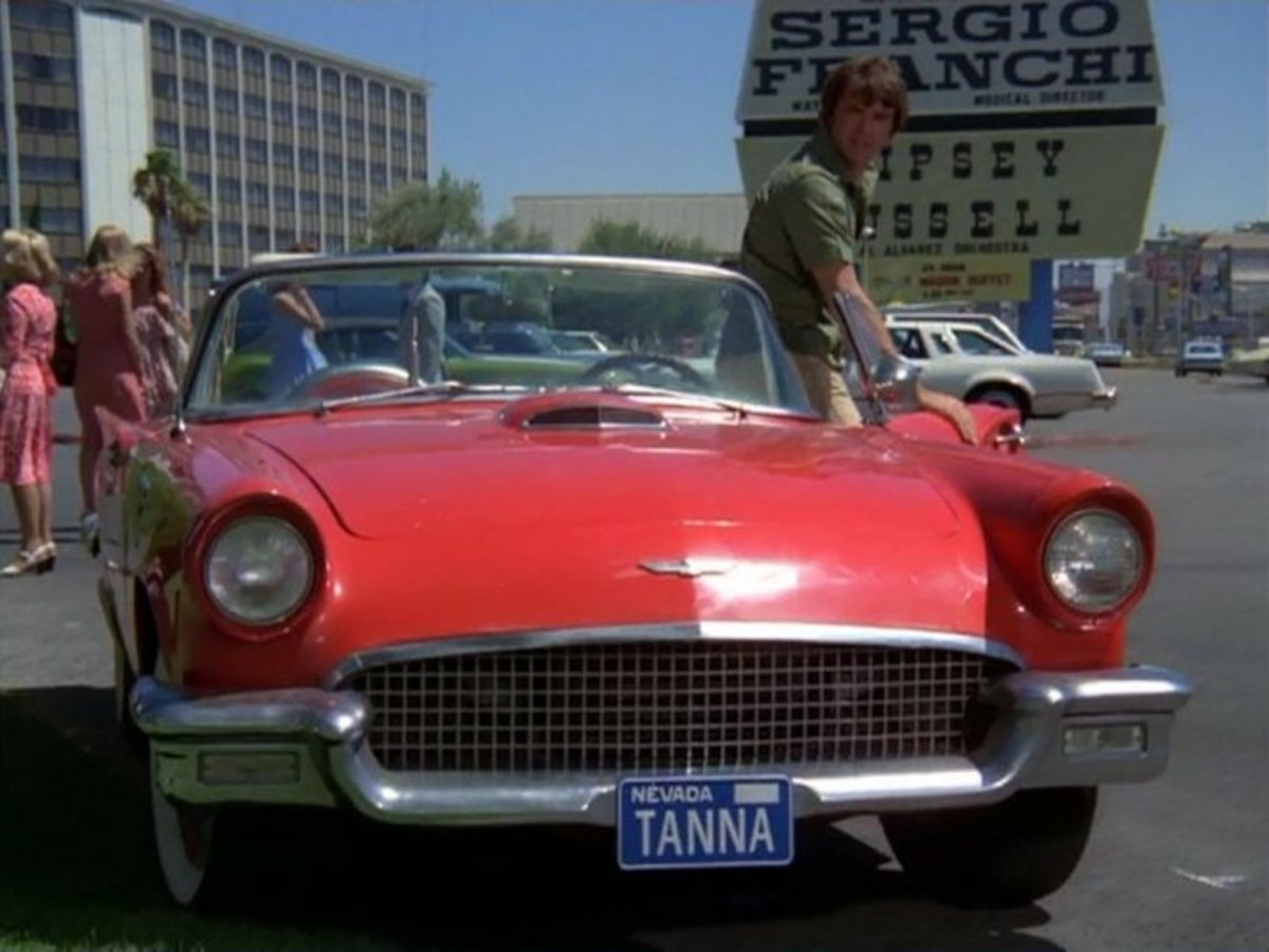 Dan Tanna's Red 1957 Thunderbird
