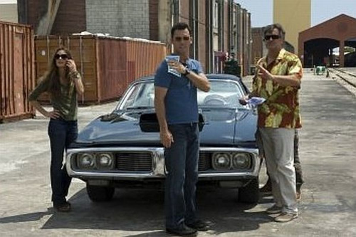 1974 Charger - Burn Notice