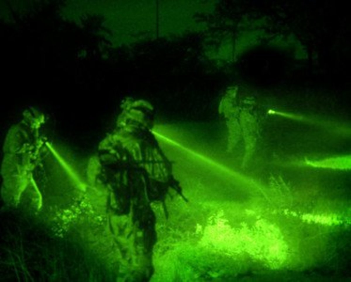 Unleash your ninja! How to prepare for Airsoft night games