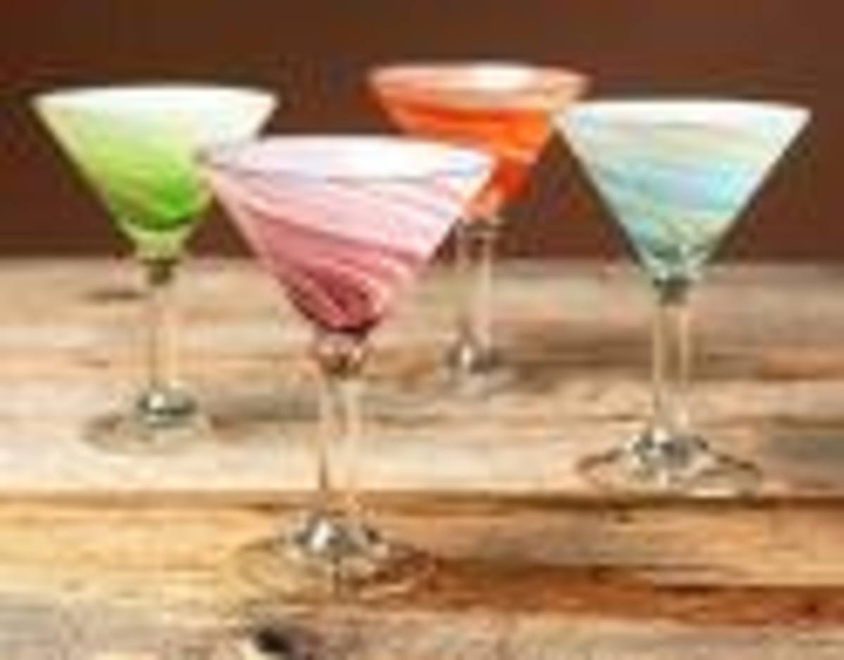 Unique Martini Glasses