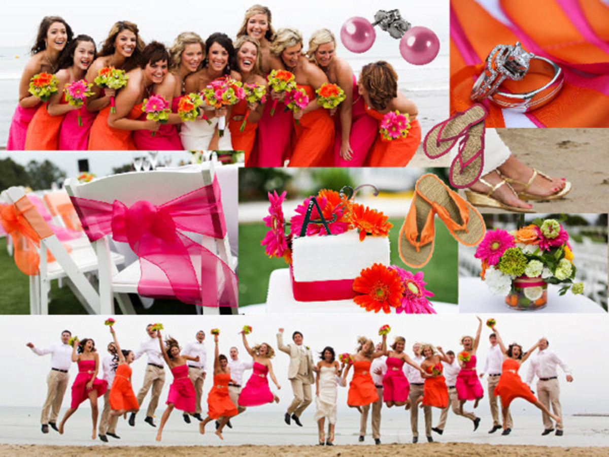 Beach Wedding Inspiration from Here Comes The Blog