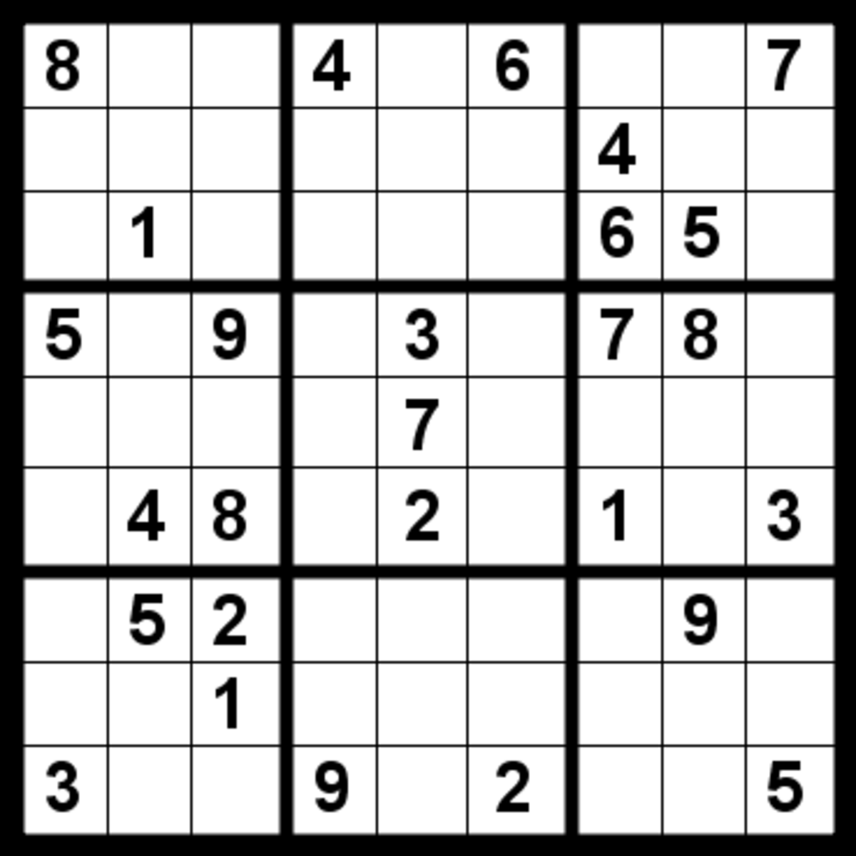 Improve your Sudoku skills (Intermediate)