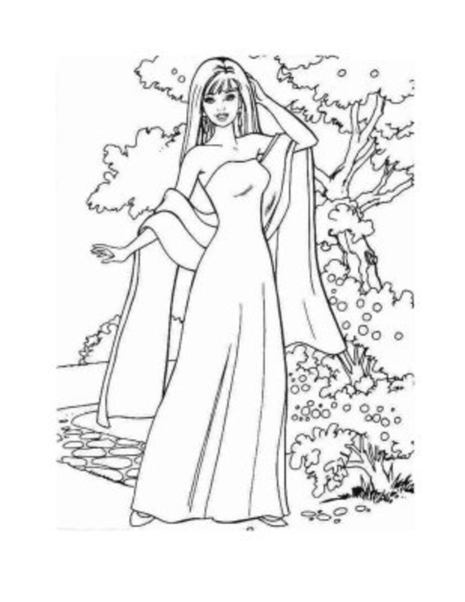 coloring pages barbie fashion fairytale - barbie fashion coloring pages colouring pictures to print