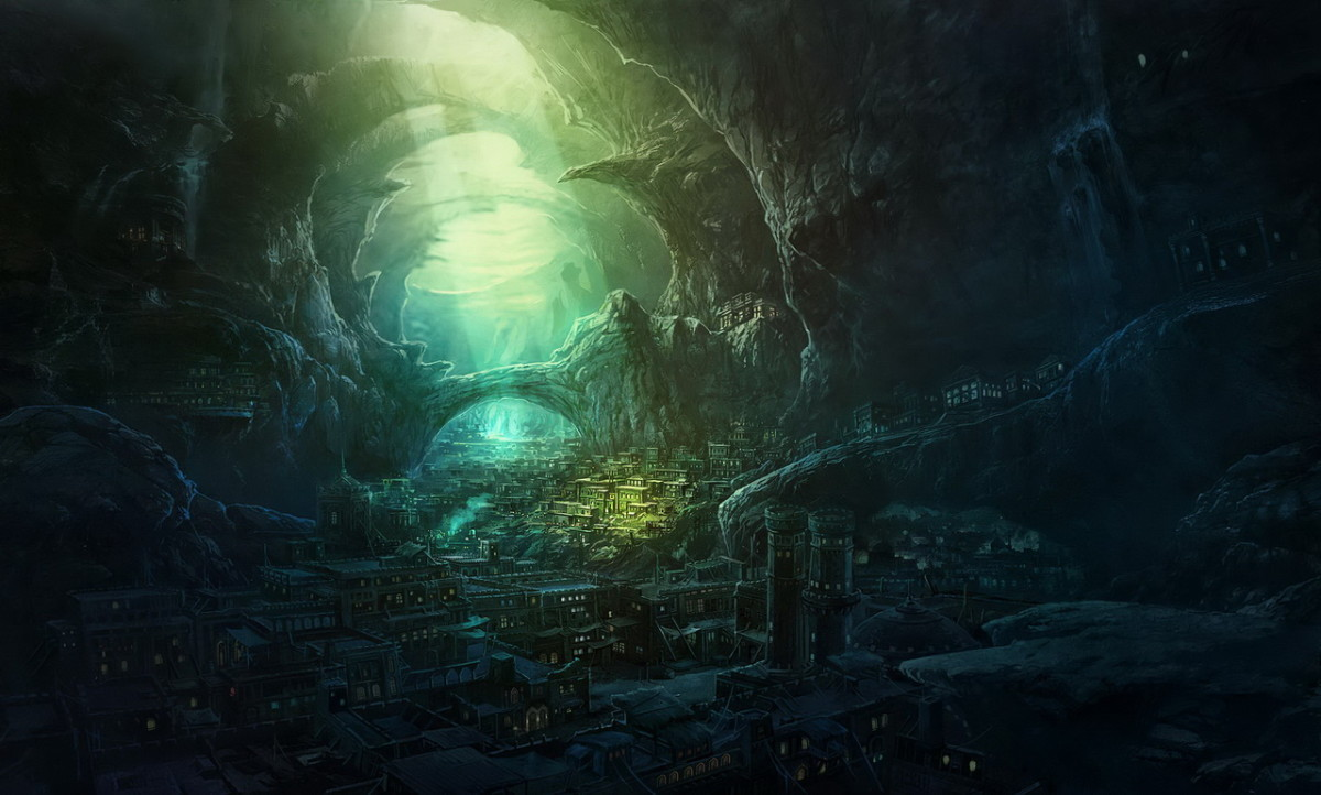 Underground City art by Yuanshandai.